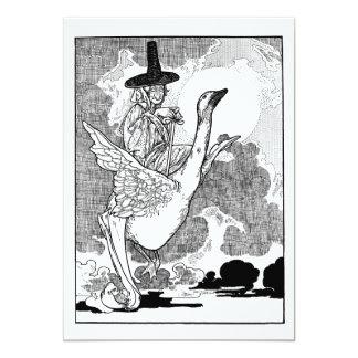 Vintage Mother Goose, Charles Robinson Invitation