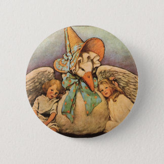 Vintage Mother Goose Children Jessie Willcox Smith Button