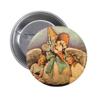 Vintage Mother Goose Children Jessie Willcox Smith Button