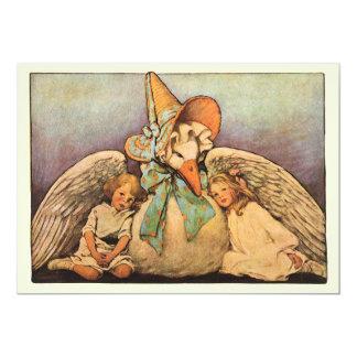 Vintage Mother Goose Children Jessie Willcox Smith Card