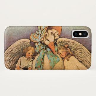 Vintage Mother Goose Children Jessie Willcox Smith iPhone X Case