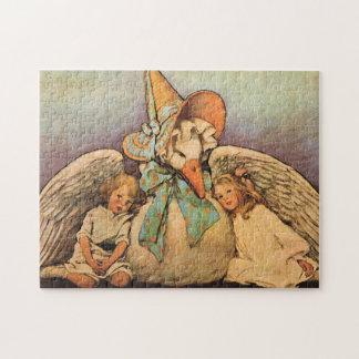 Vintage Mother Goose Children Jessie Willcox Smith Jigsaw Puzzle
