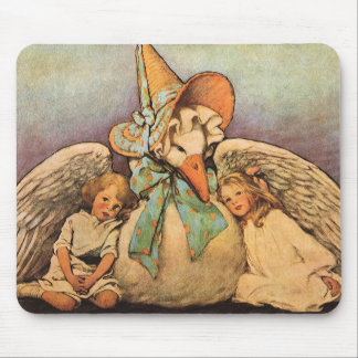 Vintage Mother Goose Children Jessie Willcox Smith Mouse Pad