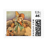 Vintage Mother Goose Children Jessie Willcox Smith Postage Stamps