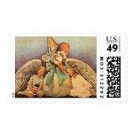 Vintage Mother Goose Children Jessie Willcox Smith Postage Stamp
