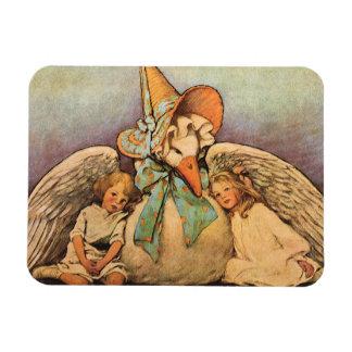 Vintage Mother Goose Children Jessie Willcox Smith Rectangular Photo Magnet