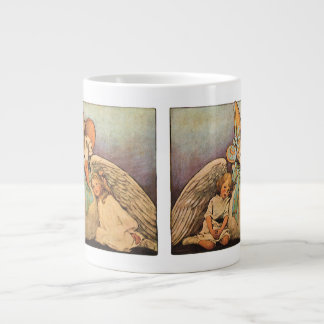 Vintage Mother Goose Children Jessie Willcox Smith Jumbo Mugs