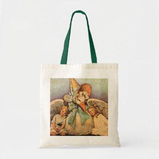 Vintage Mother Goose Children Jessie Willcox Smith Tote Bag