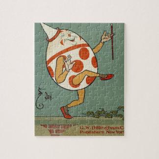 Vintage Mother Goose Nursery Rhyme, Humpty Dumpty Jigsaw Puzzle