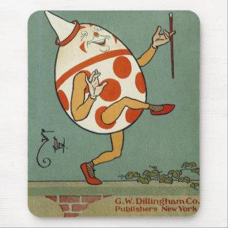 Vintage Mother Goose Nursery Rhyme, Humpty Dumpty Mouse Pad