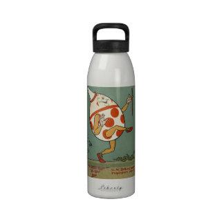 Vintage Mother Goose Nursery Rhyme, Humpty Dumpty Reusable Water Bottles