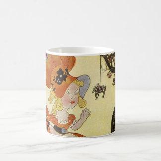 Vintage Mother Goose Nursery Rhyme Poem Coffee Mug