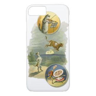 Vintage Mother Goose Nursery Rhyme Poem iPhone 7 Case