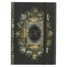 Vintage Mother Of Pearl Hand Made Book Cover Case For Ipad Air at Zazzle