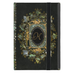 Vintage Mother Of Pearl Hand Made Book Cover Cover For Ipad Mini at Zazzle