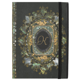 Vintage Mother Of Pearl Hand Made Book Cover iPad Pro Case