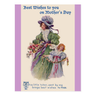 Vintage Mother's Day Card Post Cards