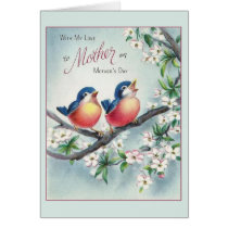Vintage Mother's Day Card With Love