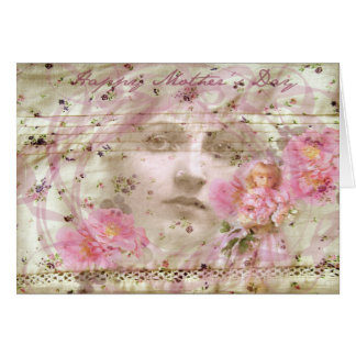 Vintage Mothers Day Greeting Card