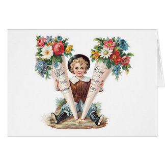 Vintage Mother's Day Wishes! Victorian Card
