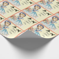 Vintage Mother's Day Wrapping Paper