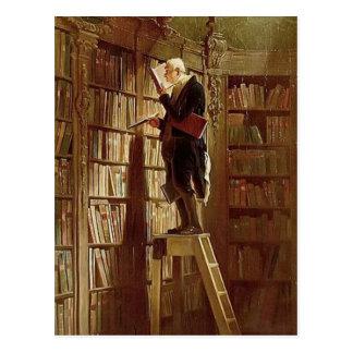 Vintage-Motive  The Bookworm Postcard