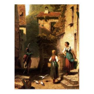 Vintage Motive - The Sergeant - Spitzweg Postcard