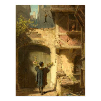 Vintage Motive - Well-Wisher - Spitzweg Postcard