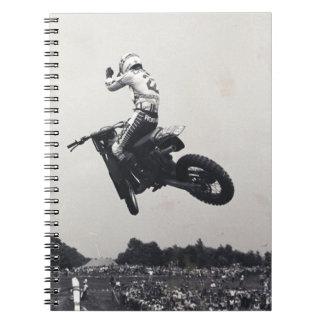 VINTAGE MOTO-X. NOTEBOOK