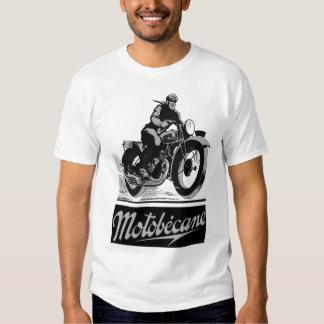Vintage Motobecane Motobécane Motorcycle Ad Shirt