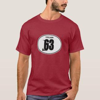 Vintage Motocross Dirt Bike Number Plate - White T-Shirt