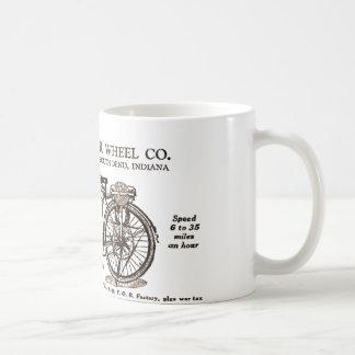 Vintage Motor Bike Ad Coffee Mug