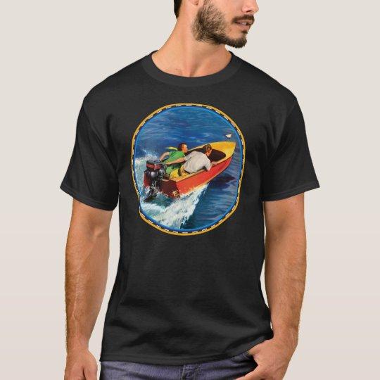 Vintage motor Boating T-Shirt