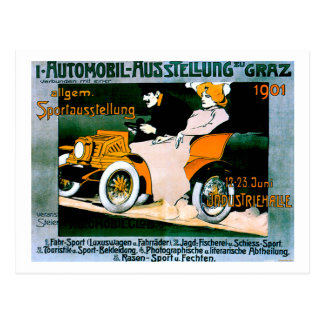 Vintage Motor Car / Automobile  Advertisement Postcard
