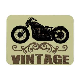 Vintage Motorbike Magnet