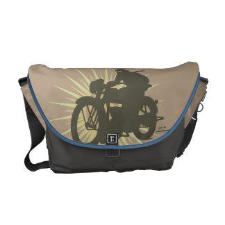 Vintage Motorbike Messenger Bag