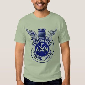 Vintage Motorcycle AFM Repair Shop T Shirt