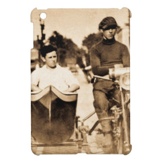 Vintage Motorcycle and Side Car Old School Cool iPad Mini Cover