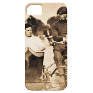 Vintage Motorcycle and Side Car Old School Cool iPhone SE/5/5s Case