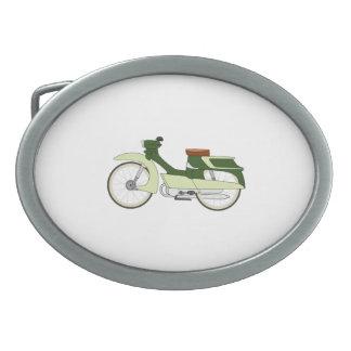 Vintage Motorcycle Oval Belt Buckles