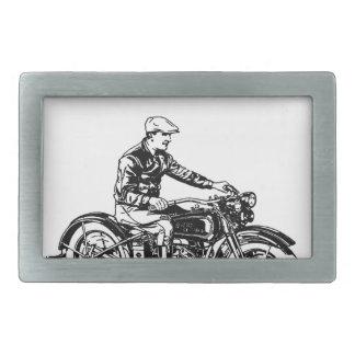 Vintage Motorcycle Belt Buckles
