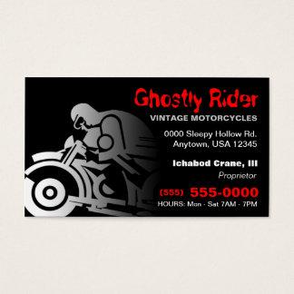 Vintage Motorcycle Business Card
