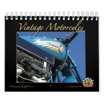 Vintage Motorcycle Calendar