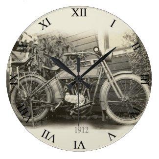 Vintage Motorcycle Clock