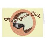 vintage motorcycle club card