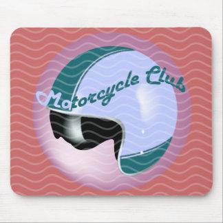 vintage motorcycle club mouse pad