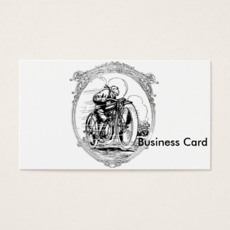 Vintage Motorcycle- Fathers Day-Birthday Business Card