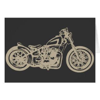 Vintage Motorcycle Illustration Cards