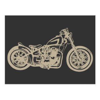 Vintage Motorcycle Illustration Post Cards