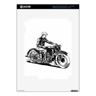 Vintage Motorcycle iPad 3 Decals